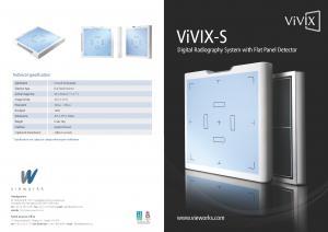 Vieworks 4343 Flat Panel Detectors - FIXED TYPE_EN