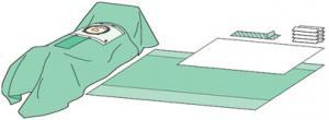 C-Section Drape