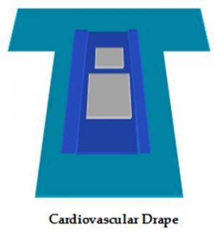 Cardio Vascular Drape