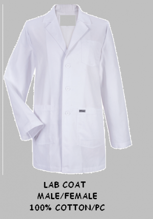 Lab Coat Male/Female