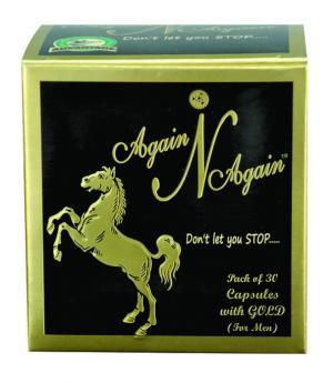 AGAIN N AGAIN WITH GOLD CAPSULE FOR MEN