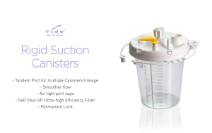 Rigid Suction Canisters