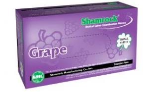 GRAPE FLAVORED POWDER FREE LATEX EXAMINATION GLOVES – TEXTURED