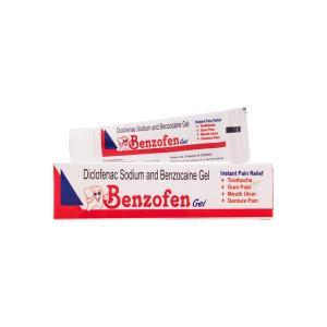 BENZOFEN ORAL GEL ( For Dental Pain gel)