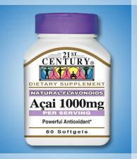 Acai 1000mg - 60 Softgels