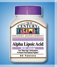 Alpha Lipoic Acid - 50 mg - 90 Tablets