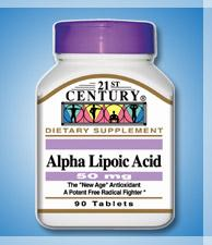 Alpha Lipoic Acid - 50 mg - 90 Tablets