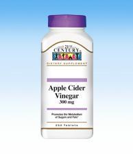Apple Cider Vinegar - 300 mg - 250 Tablets
