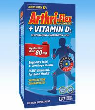 Arthri-Flex® Advantage +Vitamin D3 - 120 Coated Tablets
