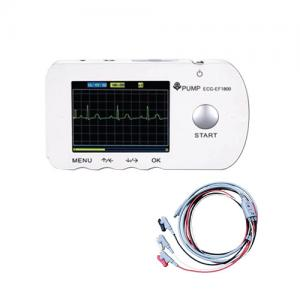 Portable Single Channel ECG EKG Monitor EF1800 with Lead Wire