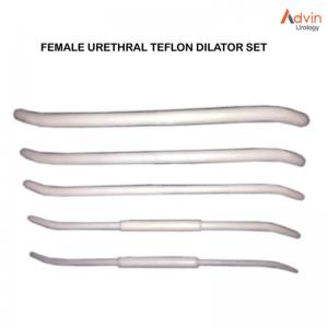 Female urethral Teflon dilator SET