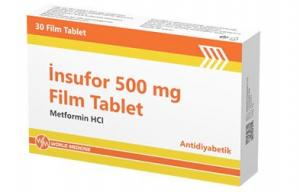 İNSUFOR 500 mg Film Tablet