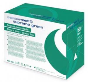 "Powderfree Surgical Glove - Indicator ""Supreme Green"""