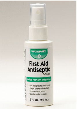 FIRST AID ANTISEPTIC SPRAY IN 2 OZ. BOTTLE