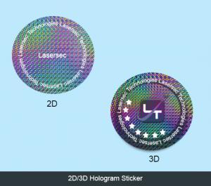 2D/3D Hologram Stickers