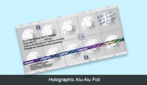 Holographic Alu-Alu Foil
