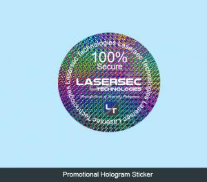 Promotional Hologram Stickers
