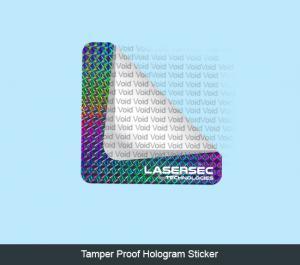 Tamper-Proof Hologram Stickers