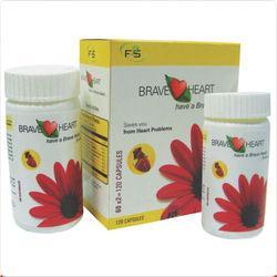 Cardiac Care Herbal Medicine  - Brave Heart Capsule