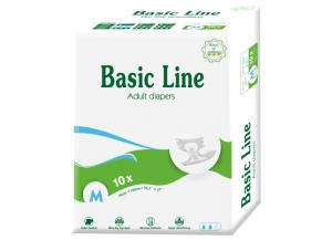 Basic Line Basic Blue Adult Diapers