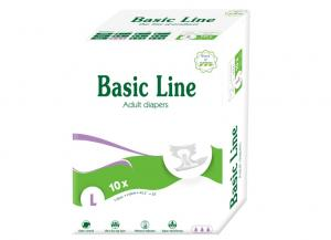 Basic Line Basic Purple Adult Diapers