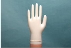 Creamy Strech Vinyl Glove