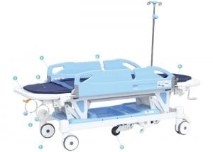 Rise and Fall stretcher cart