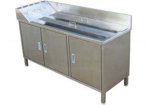 Stainless Steel Soaking and Washing sink for Gastroscope