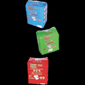 Unisex Adult Diapers (M.L. & X-L)