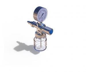 FLOWMETERS DISPENSERS-HUMIDIFIERS - GLASS BOTTLE