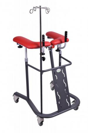 Walking trolley - with an infusion stand