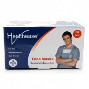 Healthease Surgical Face Mask 3ply with Ties