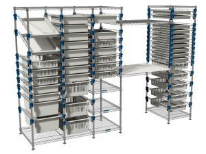 MOSYS-ISO modular shelving system