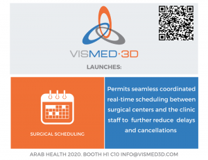 Vismed3d.com - Automated Surgical Scheduling