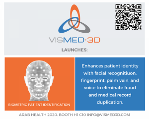 Vismed3d.com - Biometric patient verification