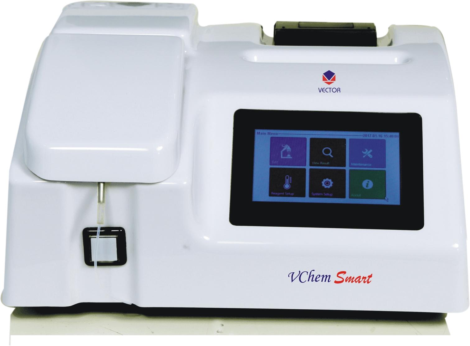 Vchem Smart - Semi auto biochemistry analyzer | Beacon