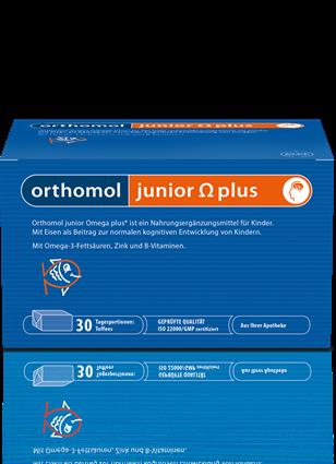 Orthomol Junior Omega Plus Orthomol Pharmazeutische Vertriebs Gmbh