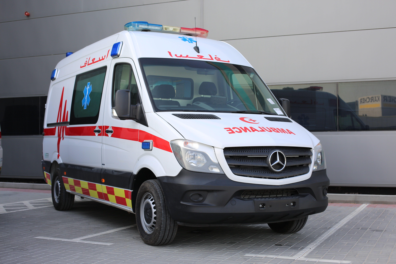Mercedes Sprinter Ambulance Type Ii B Paramed