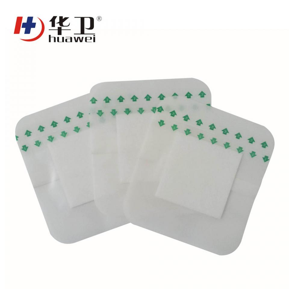 China Factory Medical Tegaderm Transparent Wound Dressing Wuhan