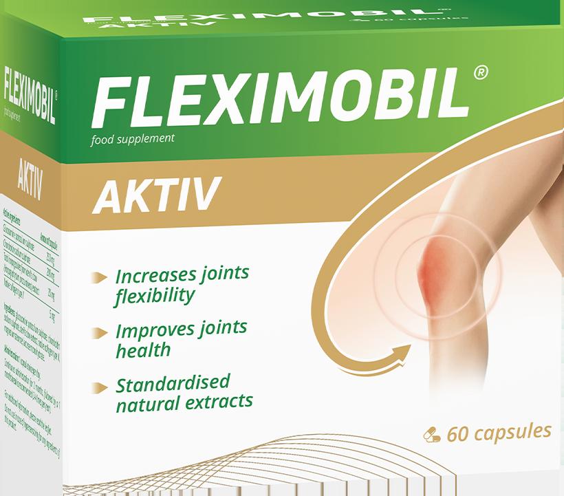 Fleximobil Aktiv, 60 capsule, Fiterman Pharma