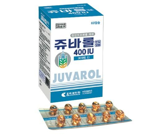 Juvarol 400IU Soft Cap.