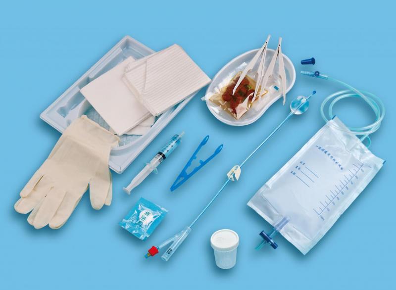One time using silicone catheterization