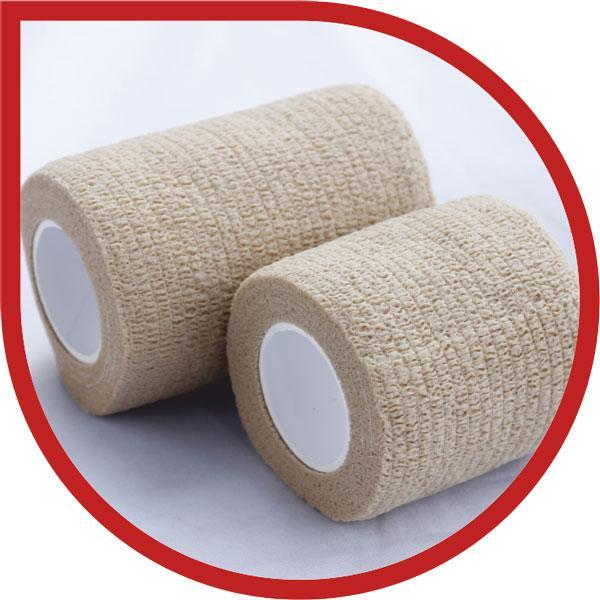 Elastic Cotton Cohesive Sports Tape  ST-2302
