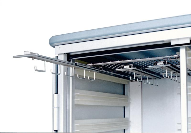 shelf for catheters