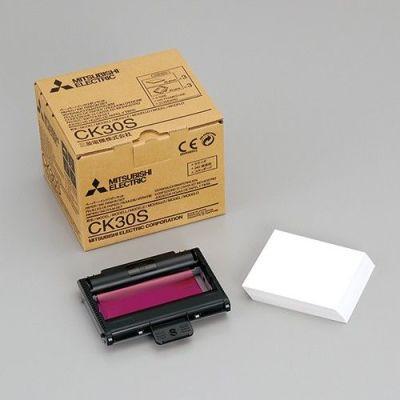 Mitsubishi CK30S Paper And Ink Cartridge