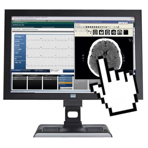 Barco MDRC-2124 TS 24 Inch Touchscreen Clinical Review LCD Display Monitor