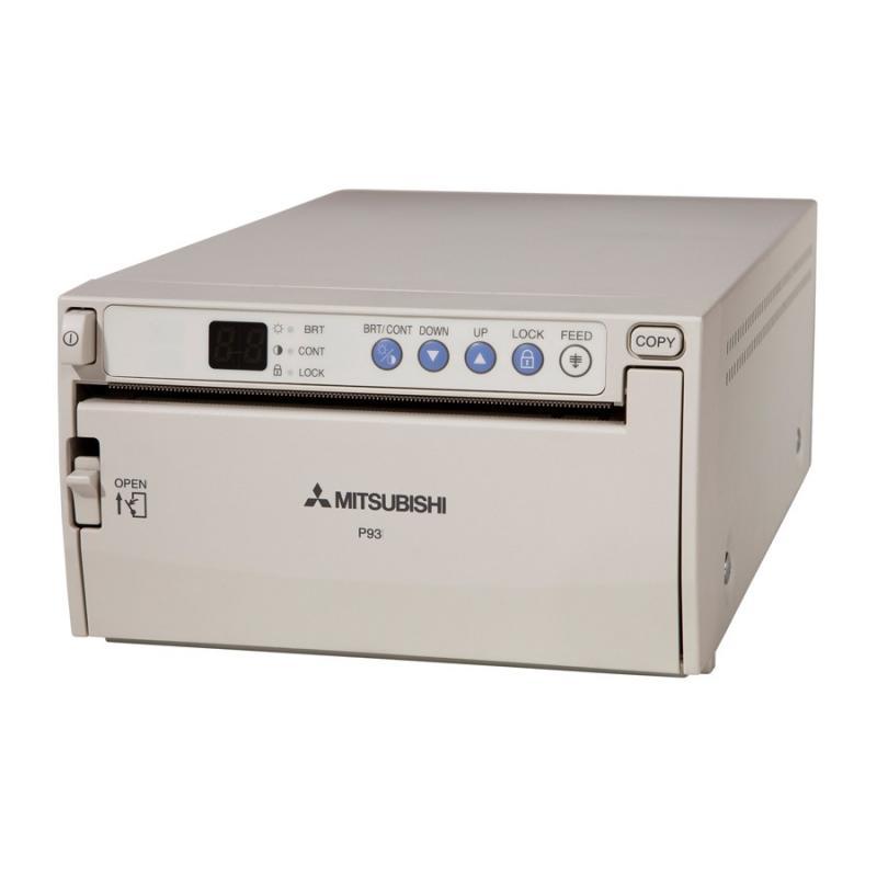 Mitsubishi P-93W B&W Analog A6  Medical Video Printer
