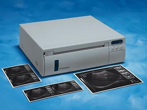 Mitsubishi P500W (P-500W) B&W A5 Analog Large-Format Thermal Printer