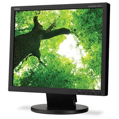 NEC AS172BK (AS172-BK) 17 inch Desktop Monitor with LED Backlighting