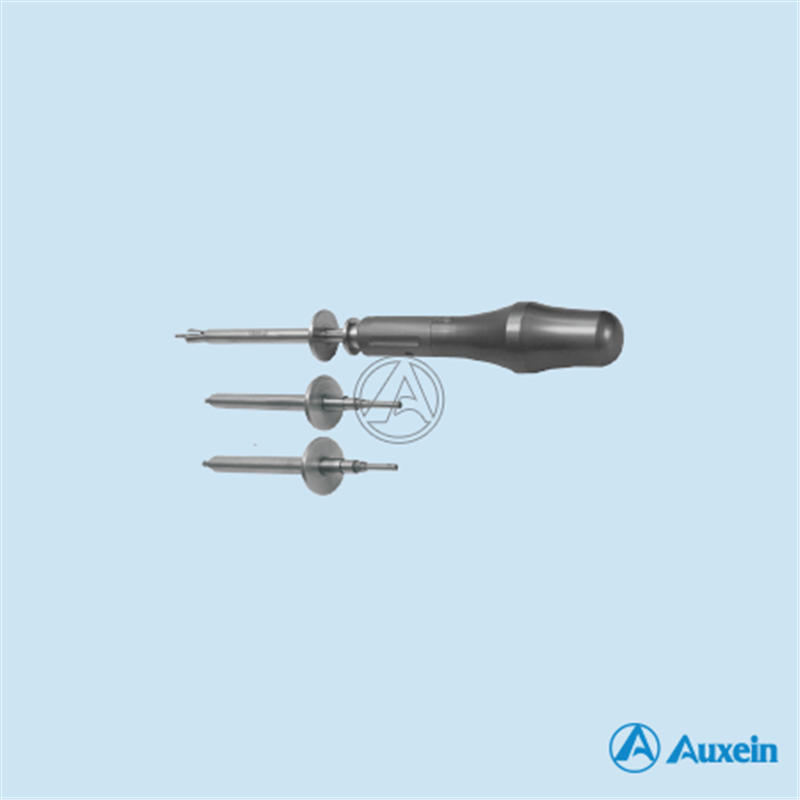 Cross Slotted Screws Driver with Holding Sleeves with 3 Blades